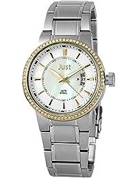 Just Watches Damen-Armbanduhr Analog Quarz Leder 48-S8265B-BC-PL