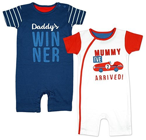 boys-pack-of-2-baby-daddy-winner-mummy-motor-car-rompers-sizes-from-newborn-to-36-months