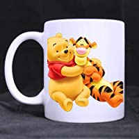 CozyHome winnie the pooh and tigger Custom coffee cup White Mug(Tazzine da caffè)