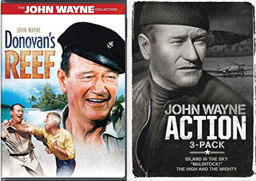 Four Movie Action John Wayne Collection - Donovan's Reef, Island in the Sky,