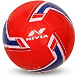 Nivia 1019 England Football, Youth Size 5 (Red/Blue)