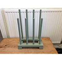 boot rack (4 pairs green ) wellington boot storage stand outdoors