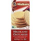 WALKERS Highland Oatcakes - Lot de 4