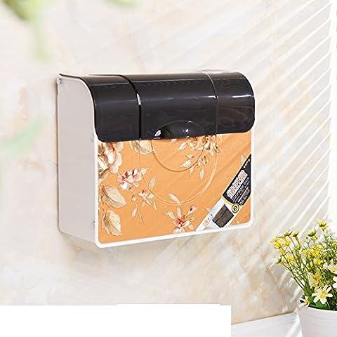 HCP Badezimmer Kunststoff-WC-Papierkasten/Badezimmer-Gewebe-Kasten/Wand-WC-Papierhand Aufbewahrungsbox-B