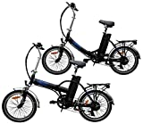 Ein Paar (2 Stk.) 20 Zoll SWEMO Alu Klapp E-Bike / Pedelec SW100 & SW200 Neu (Schwarz)