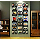 Paper Plane Design 29 Pieces/Set Photo Frame Large Scale Wall Frame Set Picture Frames Set Luxurious Frames For Wall Home Decoration