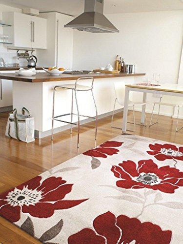 Alfombra salon sala de estar Carpet moderno Design VOQUE FLORAL RUG 10