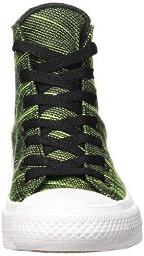 Converse Damen Chuck Taylor All Star II High Sneaker Top Schwarz / Volt