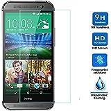 Protector de Pantalla para HTC ONE M8 Cristal Vidrio Templado Premium, Electrónica Rey®