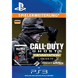 Call of Duty: Ghosts – Devastation DLC [PS3 PSN Code für deutsches Konto]