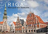 Riga - Metropole des Baltikums (Wandkalender 2018 DIN A3 quer): Lettlands Hauptstadt in einem imposanten Porträt. (Monatskalender, 14 Seiten ) (CALVENDO Orte) [Kalender] [Mar 28, 2017] Scherf, Dietmar