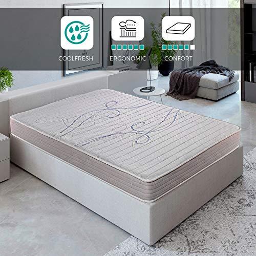 ROYAL SLEEP Colchón viscoelástico 90x190 de máxima Calidad, Confort y firmeza Alta,...