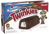 Hostess Twinkies Chocolate Cake - Creamy Filling - 10 Pack …
