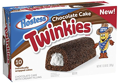 Hostess Twinkies Chocolate Cake - Creamy Filling - 10 Pack ...