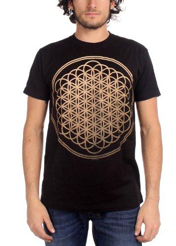 Bring Me The Horizon - Hombres Sempiternal camiseta, Small, Black