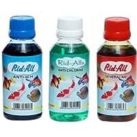 Fish Aquaria™ Product Skin & Coat Care Liquid (300 ml) 100 ml Set of 3