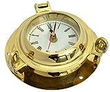 Reloj de concisión 15,24 cm - hecho de latón brillante acabado hermoso agujero de Puerto náutico de la pared decoración de la pared decoración de marina