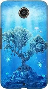 DailyObjects Underwater Tree Case For Google Nexus 6