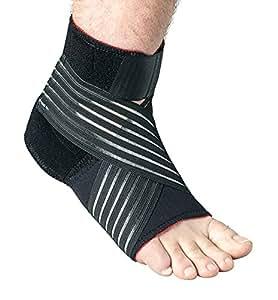 Thermoskin Orthèse de maintien du pied Large Taille chaussure homme 44 à 45 et taille chaussure femme 40,5 à 42,5