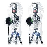 Neewer 4pz Custodia Protettore Coperta Parapioggia per Fotocamere Reflex Canon Nikon Sony Pentax ecc., Speedlite Flash, Treppiedi & Obiettivi da Massimio 35cm in Lunghezza & 17,5cm in Diametro