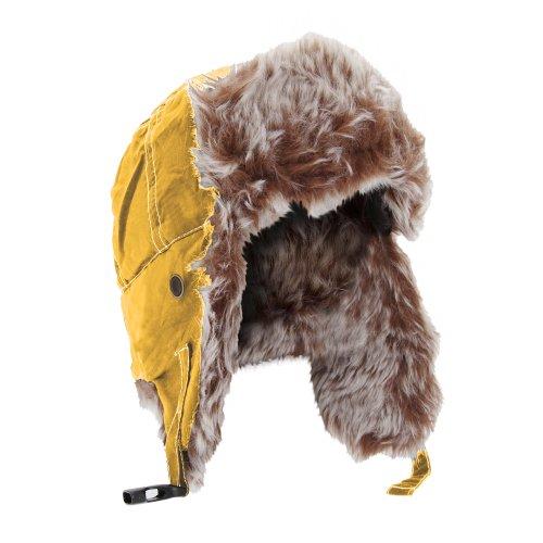 Result Unisex klassische Winter/Ski Sherpa Mütze (M) (Gelb)