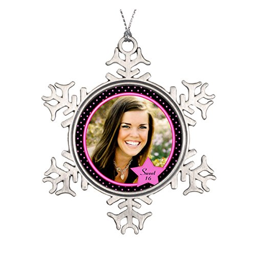 (Daily Lady Sweet Sixteen Foto Ornament)