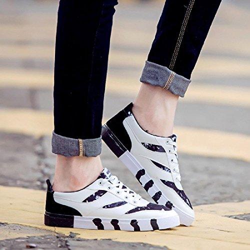 Hommes Chaussures de sport Mode Respirant Entraînement Chaussures décontractées Chaussures plates Formateurs Black