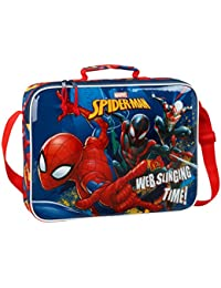 Marvel Spiderman Ultimate Bolso Porta Zapados Zapatillas Gimnasio Piscina