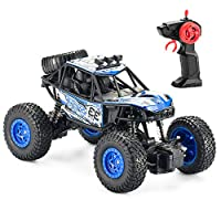 Jaybest RC Remote Control Car Off-road Car Climbing Vehicle for Kids, Rechargeable Car for 5~13 year old Birthday Gifts Boys Girls Adults (blue)