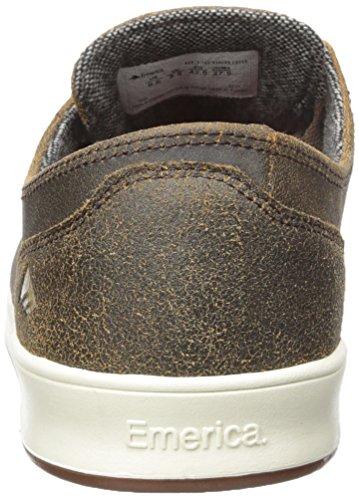 Emerica LACED BY LEO ROMERO 6102000082 Herren Sneaker brown/gum/gold