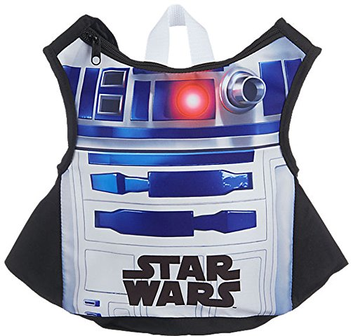 R2D2-Kostüm Westenrucksack 2 in 1 Star Wars - Altersempfehlung: 3 bis 7 (Wars Kostüme R2d2 Star)