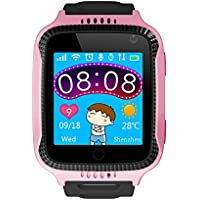 FUBORONG Kids Smart Watch for Girls Boys with GPS Tracker SIM Solt Pedometer SOS Camera Anti Lost Alarm Clock Smart Watches Bracelet