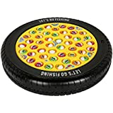 Rowan Tyre Fishing Game Colorful, Musical and Rotating Toy with 45 Fishes and 4 Rods for Kids Above 3 Years