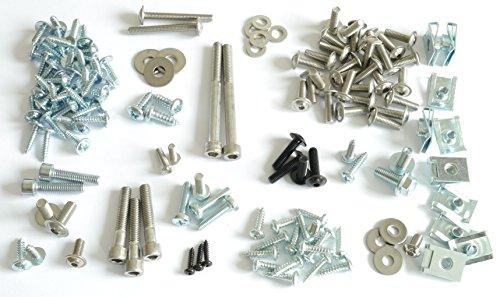 Tech-Parts-Koeln Mega Set - Verkleidungsschrauben Aprilia Sr 50 Factory + 10 Clipse -Neu- 144 Teile!