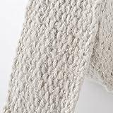 20m cerámica CALOR banda–Color Blanco (ancho: 50mm) + 10V2A presilla (Longitud: 250mm)