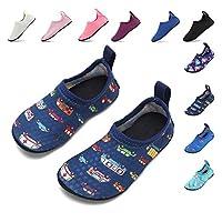 HooyFeel Baby Boys Girls Swim Water Shoes Quick Dry Lightweight Kid Beach Pool Shoes Bus 10.5-11 Toddler