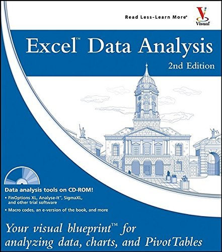 Excel Data Analysis: Your Visual Blueprint for Analyzing Data, Charts, and PivotTables by Jinjer Simon (24-Jun-2005) Paperback