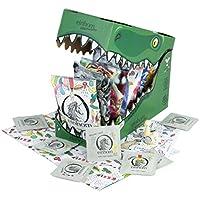 Preisvergleich für einhorn Kondome - Geschenk Special - Super Dino - 63 Stück - vegan + 2 schlüpfrige Stempel und Stickerbogen