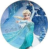 Tortenaufleger Elsa Action Ø 20 cm