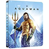 Aquaman Limited Edition Steelbook 3D + 2D Blu Ray
