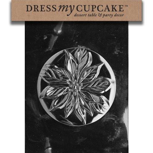 Dress My Cupcake DMCC400A Chocolate Candy Mold, Poinsettia Pour Box-Top, Christmas by Dress My Cupcake