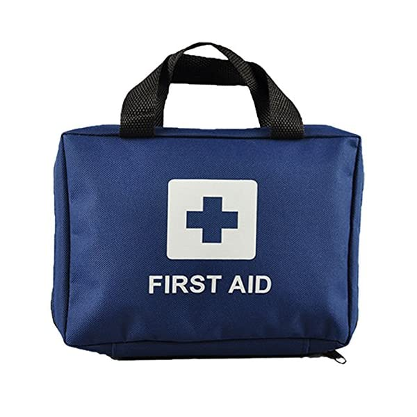 99pcs Supreme First Aid Kit Bag - Inc. Eye Wash, Crepe, Ice Pack, Thermal Blanket - Home, Office, Vehicle, Workplace… 2