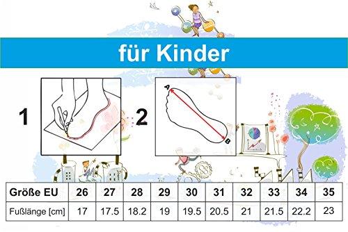 xKids Mädchen Hausschuhe Ballerinas Hausschuhe Vienna Gr. 26 - 35 EU Aschgrau/Blumen