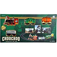 UNIQUE CREATION ChooChoo Toy Train Emits Real Smoke with Light and Sound Track Set for Kids|Battery Operated Choo Choo…