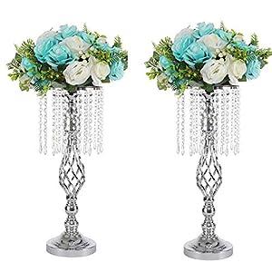 Romantische Dekor Gold Sharplace Kristall Votive Teelicht Lampe Kerzehalter Kerzenst/änder