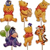 Party2u Winnie The Pooh Torta Cupcake Toppers Decorazione (24 Pezzi)