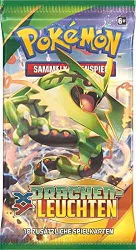 Preisvergleich Produktbild Pokemon XY06 Drachenleuchten Booster deutsch