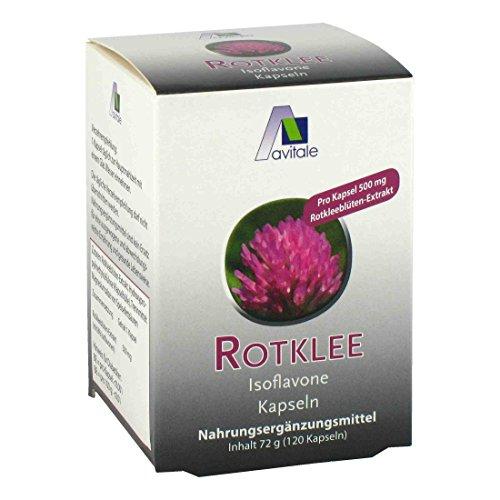 Avitale Rotklee Kapseln 500 mg, 120 Stück, 1er Pack (1 x 72 g)