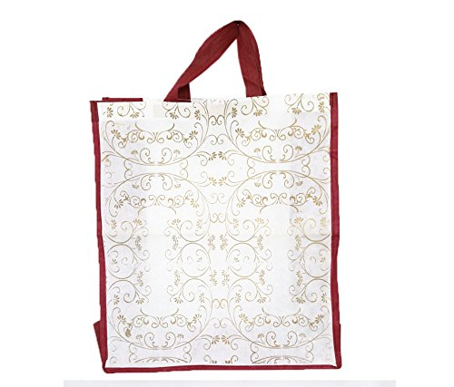 Kuber Industries™ Gift Hand Bag ,Carry Bag in Non Woven Material Set of 6 Pcs (Dimenson-18*15.5*6 Inches)