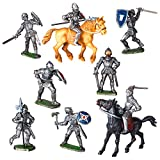 "Spielfiguren Sortiment ""Ritter"" - 10 Figuren - MADE IN GERMANY"